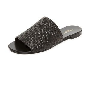 Michael Kors Collection Byrne Slides (36.5) New